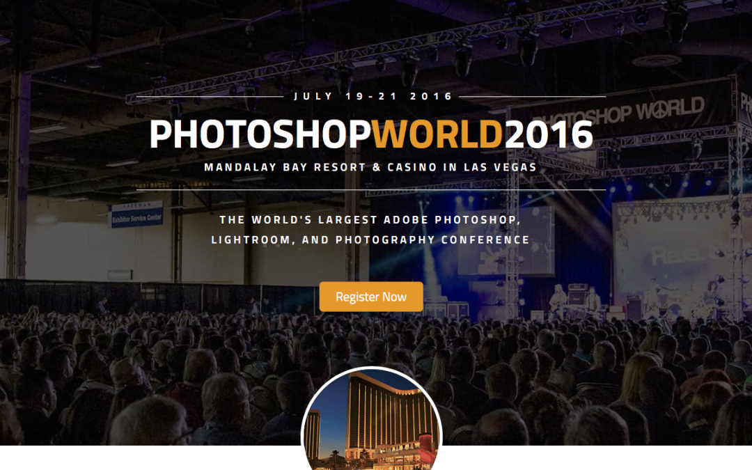 Big News for Photoshop World 2016